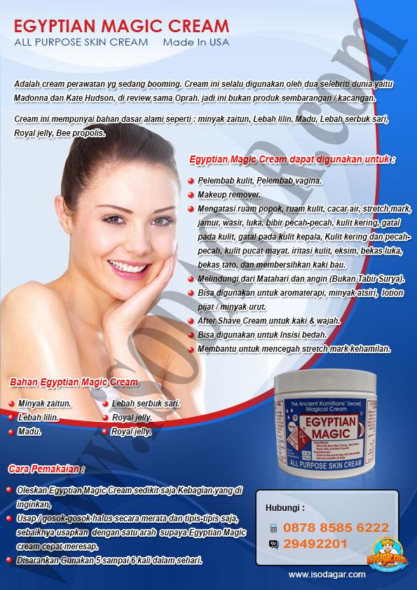 Brosur Egyptian Magic Cream