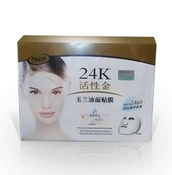 Masker 24K Active Golden Yulan Oil Facial Mask