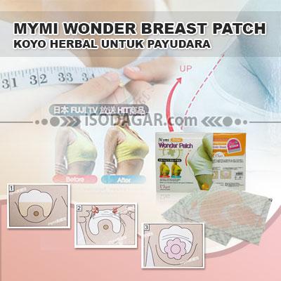 MyMi Wonder Breast merupakan koyo jel, yang mengandung bahan-bahan yang kaya, natural dan efektif untuk memperbesar dan mempercantik payudara.