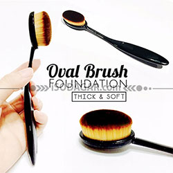 OVAL BRUSH FOUNDATION (Kuas Make Up)