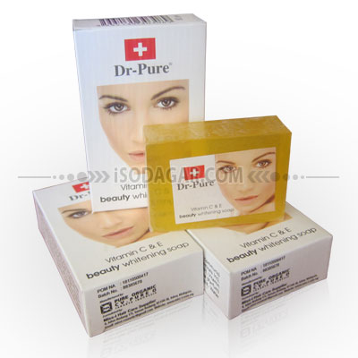 sabun dr pure beauty whitening soap sabun pemutih