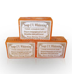 UV Whitening Soap (Sabun Walet) - 1 Lusin