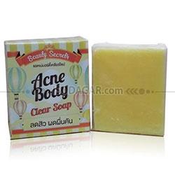 ACNE BODY CLEAR SOAP (Sabun untuk jerawat Badan)