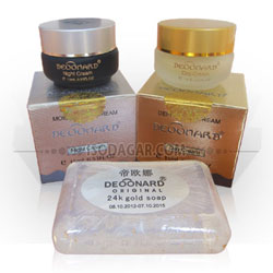 Deoonard Gold & Silver Cream + Sabun